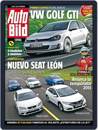 Auto Bild Es March 14th, 2013 Digital Back Issue Cover