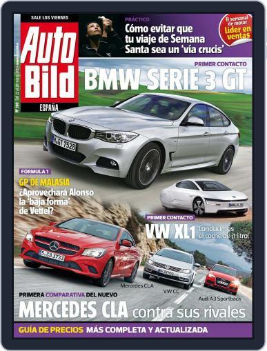 Auto Bild Es (Digital) March 21st, 2013 Issue Cover