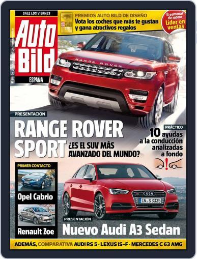 Auto Bild Es (Digital) March 26th, 2013 Issue Cover