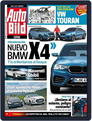 Auto Bild Es (Digital) April 11th, 2013 Issue Cover