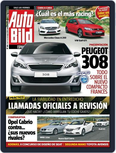 Auto Bild Es (Digital) May 17th, 2013 Issue Cover