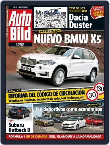 Auto Bild Es June 6th, 2013 Digital Back Issue Cover