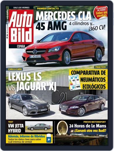 Auto Bild Es June 20th, 2013 Digital Back Issue Cover