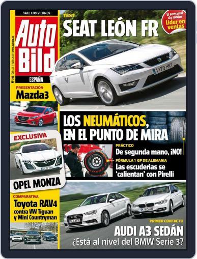 Auto Bild Es (Digital) July 4th, 2013 Issue Cover
