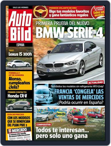 Auto Bild Es (Digital) July 25th, 2013 Issue Cover