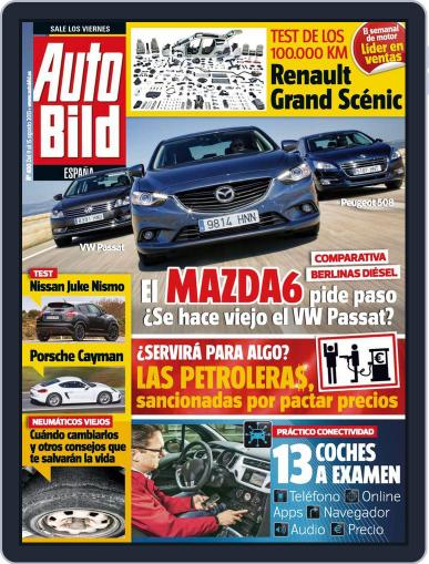 Auto Bild Es August 8th, 2013 Digital Back Issue Cover