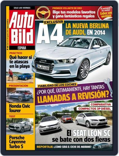 Auto Bild Es (Digital) August 14th, 2013 Issue Cover