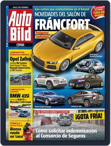 Auto Bild Es September 5th, 2013 Digital Back Issue Cover