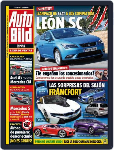 Auto Bild Es September 13th, 2013 Digital Back Issue Cover