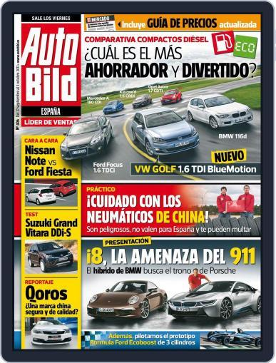 Auto Bild Es September 26th, 2013 Digital Back Issue Cover