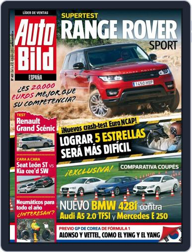 Auto Bild Es (Digital) October 3rd, 2013 Issue Cover