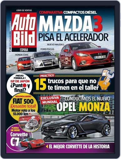 Auto Bild Es (Digital) October 10th, 2013 Issue Cover