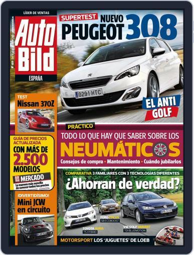 Auto Bild Es (Digital) October 17th, 2013 Issue Cover
