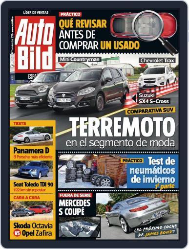 Auto Bild Es (Digital) November 7th, 2013 Issue Cover