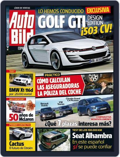 Auto Bild Es December 4th, 2013 Digital Back Issue Cover