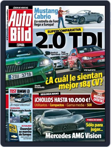 Auto Bild Es (Digital) December 12th, 2013 Issue Cover