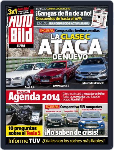 Auto Bild Es (Digital) December 20th, 2013 Issue Cover