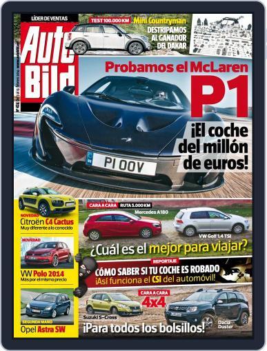 Auto Bild Es February 7th, 2014 Digital Back Issue Cover