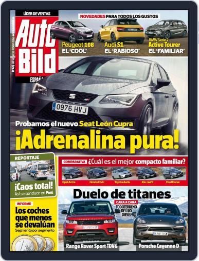 Auto Bild Es February 14th, 2014 Digital Back Issue Cover