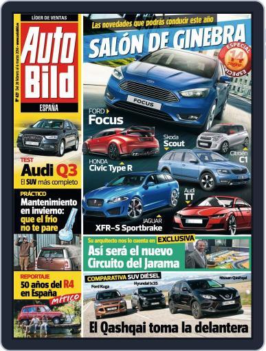 Auto Bild Es February 28th, 2014 Digital Back Issue Cover