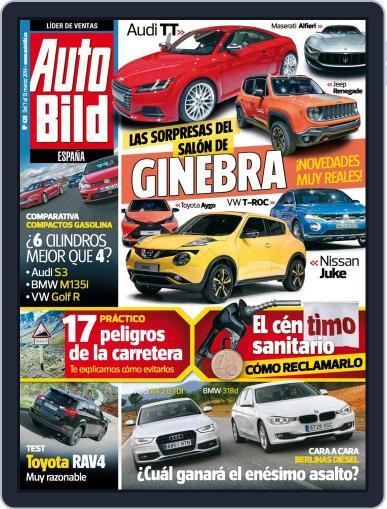 Auto Bild Es (Digital) March 7th, 2014 Issue Cover