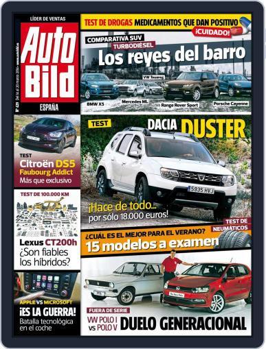 Auto Bild Es (Digital) March 14th, 2014 Issue Cover