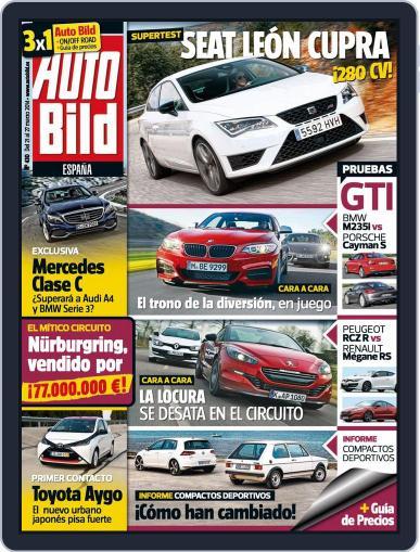 Auto Bild Es (Digital) March 21st, 2014 Issue Cover