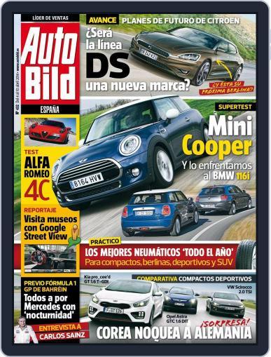Auto Bild Es April 4th, 2014 Digital Back Issue Cover