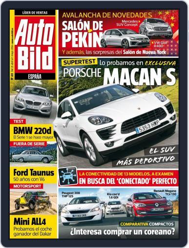 Auto Bild Es (Digital) April 25th, 2014 Issue Cover