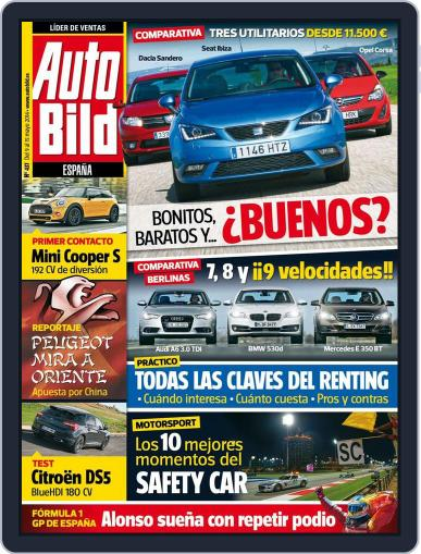 Auto Bild Es May 9th, 2014 Digital Back Issue Cover