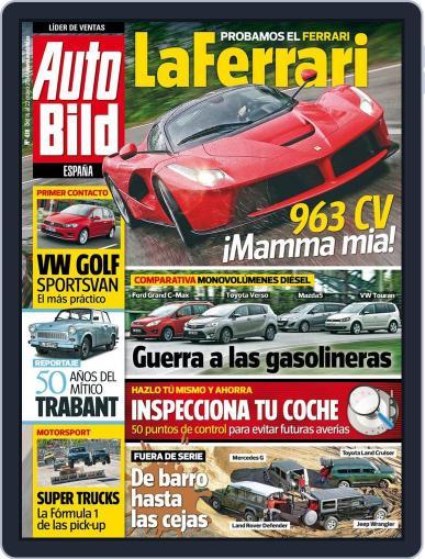 Auto Bild Es (Digital) May 16th, 2014 Issue Cover