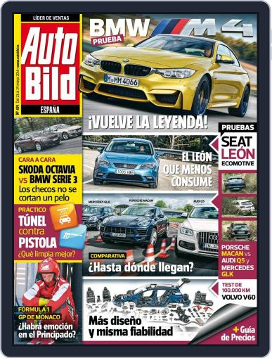 Auto Bild Es May 23rd, 2014 Digital Back Issue Cover