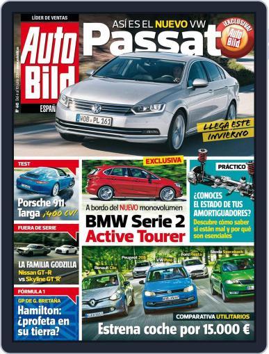 Auto Bild Es (Digital) July 4th, 2014 Issue Cover