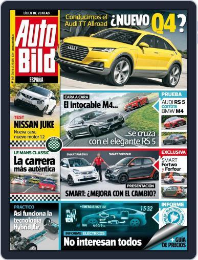Auto Bild Es July 18th, 2014 Digital Back Issue Cover