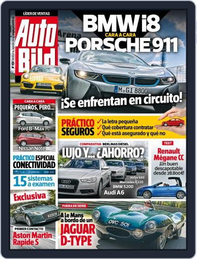 Auto Bild Es August 8th, 2014 Digital Back Issue Cover