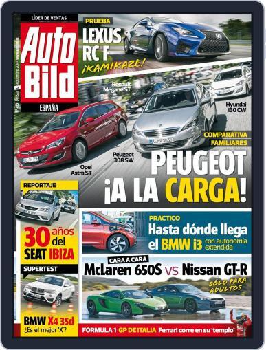 Auto Bild Es (Digital) September 5th, 2014 Issue Cover