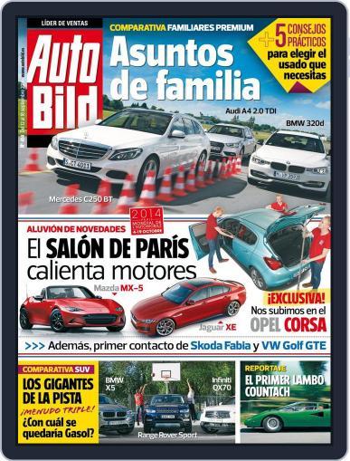 Auto Bild Es September 12th, 2014 Digital Back Issue Cover