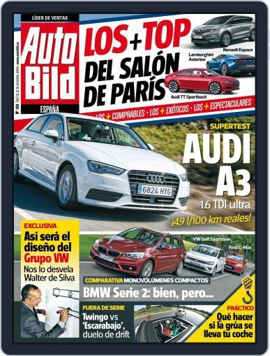 Auto Bild Es (Digital) October 10th, 2014 Issue Cover