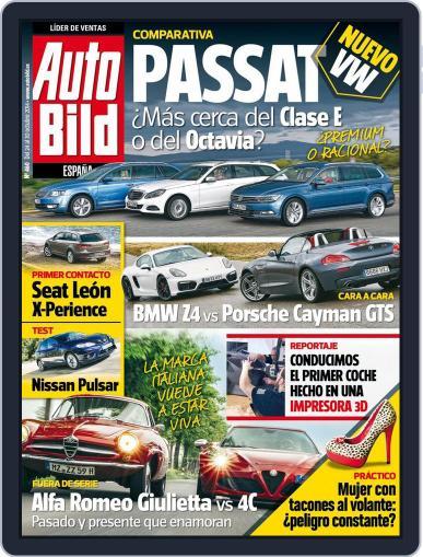 Auto Bild Es October 24th, 2014 Digital Back Issue Cover
