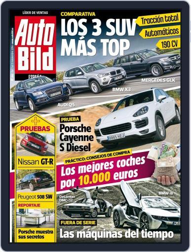 Auto Bild Es (Digital) November 7th, 2014 Issue Cover