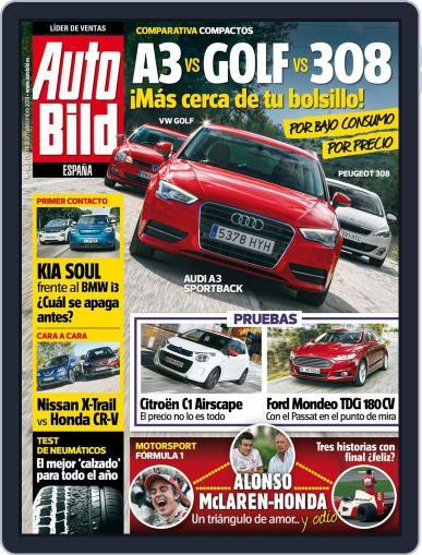 Auto Bild Es (Digital) November 14th, 2014 Issue Cover