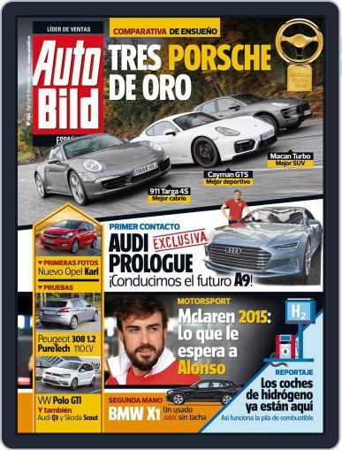Auto Bild Es December 5th, 2014 Digital Back Issue Cover
