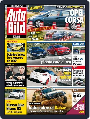 Auto Bild Es (Digital) December 26th, 2014 Issue Cover
