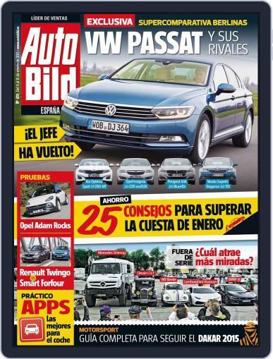 Auto Bild Es (Digital) January 9th, 2015 Issue Cover