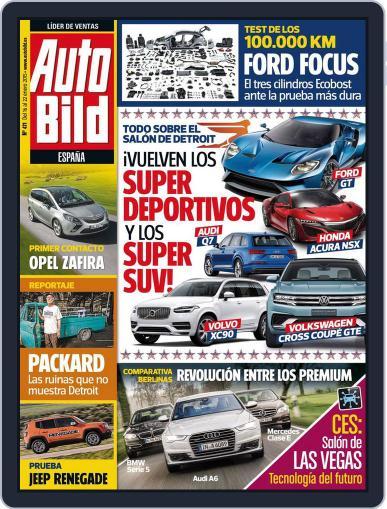 Auto Bild Es (Digital) January 16th, 2015 Issue Cover