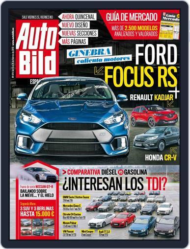 Auto Bild Es (Digital) February 13th, 2015 Issue Cover