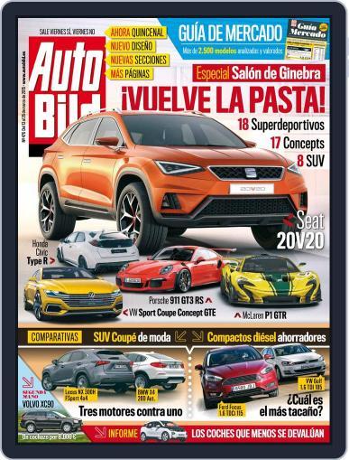 Auto Bild Es (Digital) March 13th, 2015 Issue Cover