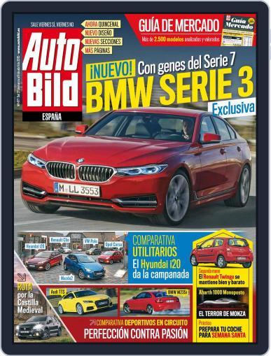 Auto Bild Es (Digital) March 27th, 2015 Issue Cover