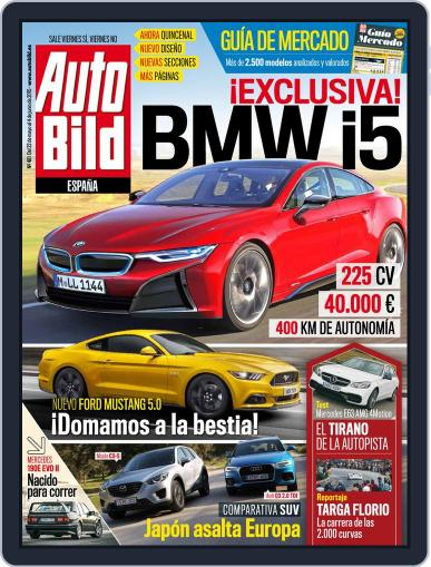 Auto Bild Es (Digital) May 22nd, 2015 Issue Cover