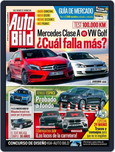 Auto Bild Es (Digital) June 5th, 2015 Issue Cover